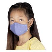 PARSA Waschbare Mund- und Nasenmasken für Kinder Blaue Punkte
