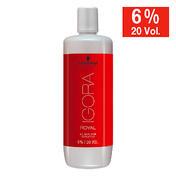 Schwarzkopf Révélateur enrichi en huile IGORA ROYAL 6 % - 20 Vol., 60 ml