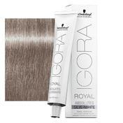 Schwarzkopf IGORA ROYAL Absolutes SilverWhite Rauch Grau, Tube 60 ml