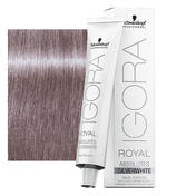 Schwarzkopf IGORA ROYAL Absolutes SilverWhite Grau Lila, Tube 60 ml