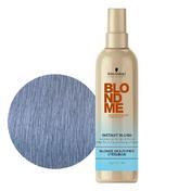 Schwarzkopf BlondMe Instant Blush Stahlblau, 250 ml