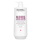 Goldwell Dualsenses Blondes & Highlights Anti-Yellow Conditioner 1 Liter