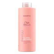 Wella Invigo Blonde Recharge Color Refreshing Shampoo 1 Liter
