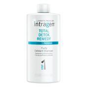 Intragen Total Detox Remedy Purify Exfoliant Shampoo 1 Liter