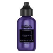 L'ORÉAL #COLORFULHAIR Flash Pro Hair Make-Up Samtig Purple Reign (4), 60 ml