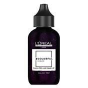 L'ORÉAL #COLORFULHAIR Flash Pro Hair Make-Up Glitzer Galaxy Trip (8), 60 ml