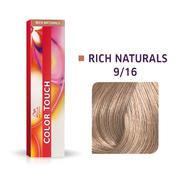 Wella Color Touch Rich Naturals 9/16 Blond platine cendré violet