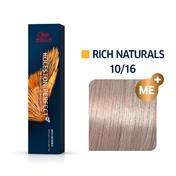 Wella Koleston Perfect Rich Naturals 10/16 Hell Lichtblond Asch Violett, 60 ml