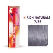 Wella Color Touch Rijke natuurproducten 7/86 Midden Blond Parel Violet