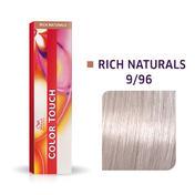 Wella Color Touch Rijke natuurproducten 9/96 Licht Blond Cendré Violet