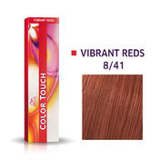 Wella Color Touch Vibrant Reds blond clair cendre rouge