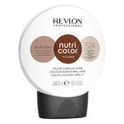 Revlon Professional Nutri Color Filter Kugel 524 Hellbraun Irisé Kupfer 240 ml