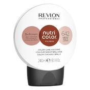 Revlon Professional Nutri Color Filter Kugel 642 Dunkelblond Kupfer Irisé 240 ml