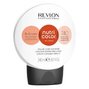 Revlon Professional Nutri Color Filter Kugel 740 Mittelblond Kupfer Intensiv 240 ml