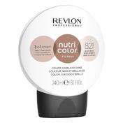 Revlon Professional Nutri Color Filter Kugel 821 Hellblond Irisé Asch 240 ml