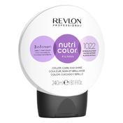 Revlon Professional Nutri Color Filter Kugel 1022 Intensives Platin 240 ml