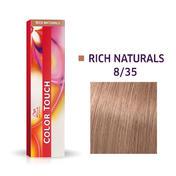 Wella Color Touch Rijke natuurproducten 8/35 Licht Blond Goud Mahonie
