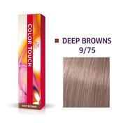 Wella Kleur Aanraking Diep Bruin 9/75 Licht Blond Bruin Mahonie