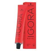 Schwarzkopf IGORA Royal Permanent Color Creme 3-22 Dunkelbraun Asch Extra Tube 60 ml