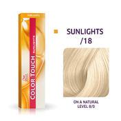 Wella Color Touch Sunlights /18 Cendré perle