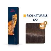 Wella Koleston Perfect Rich Naturals 6/2 Dunkelblond Matt, 60 ml