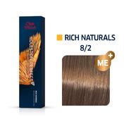 Wella Koleston Perfect Rich Naturals 8/2 Hellblond Matt, 60 ml