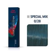 Wella Koleston Perfect Special Mix 0/28 Matt Blau, 60 ml