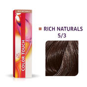 Wella Color Touch Rich Naturals 5/3 Hellbraun Gold