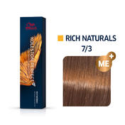 Wella Koleston Perfect Rich Naturals 7/3 Mittelblond Gold, 60 ml