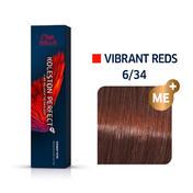 Wella Koleston Perfect Vibrant Reds 6/34 Dunkelblond Gold Rot, 60 ml
