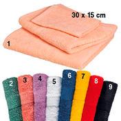 Fripac-Medis Kabinet badstof gezicht handdoek Abrikoos (1)