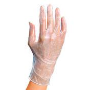 BHK Vinyl Handschuhe Größe S 100 Stück , 100 Stück