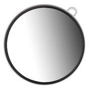 Dynatron Miroir-coiffeur à main noir