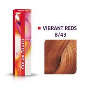 Wella Color Touch Vibrant Reds 8/43 Blond clair cuivré doré