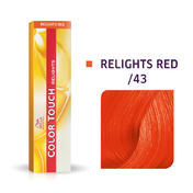 Wella Color Touch Relights Red /43 Cuivré doré