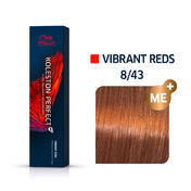 Wella Koleston Perfect Vibrant Reds 8/43 Hellblond Rot Gold, 60 ml