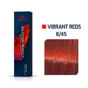 Wella Koleston Perfect Vibrant Reds 8/45 Hellblond Rot Mahagoni, 60 ml