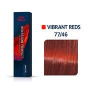 Wella Koleston Perfect Vibrant Reds 77/46 Mittelblond Intensiv Rot Violett, 60 ml