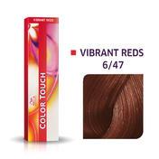 Wella Color Touch Vibrant Reds 6/47 Blond foncé cuivré marron