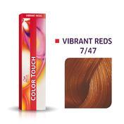 Wella Color Touch Vibrant Reds 7/47 Blond moyen cuivré marron