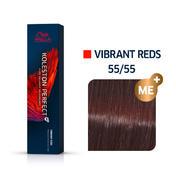 Wella Koleston Perfect Vibrant Reds 55/55 Hellbraun Intensiv Mahagoni Intensiv, 60 ml