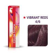 Wella Color Touch Vibrant Reds 4/6 Châtain moyen violet