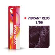 Wella Color Touch Vibrant Reds 3/66 Dunkelbraun Violett Intensiv