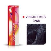 Wella Color Touch Vibrant Reds 3/68 Châtain foncé violet perle
