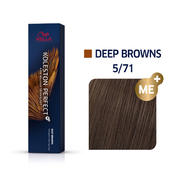 Wella Koleston Perfect Deep Browns 5/71 Hellbraun Braun Asch, 60 ml
