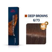 Wella Koleston Perfect Deep Browns 6/73 Dunkelblond Braun Gold, 60 ml