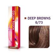 Wella Color Touch Deep Browns 6/73 Dunkelblond Braun Gold