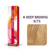 Wella Color Touch Deep Browns 9/73 Lichtblond Braun Gold