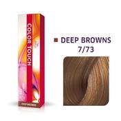 Wella Color Touch Deep Browns 7/73 Mittelblond Braun Gold