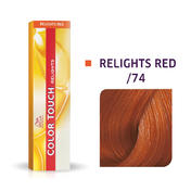 Wella Color Touch Relights Red /74 Braun Rot
